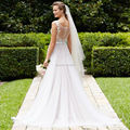 Simple Beach Wedding Dresses 2017 LORIE Vestido De Novia Sirena Charming Tulle Bridal Gowns Dresses Sheer Lace See Through