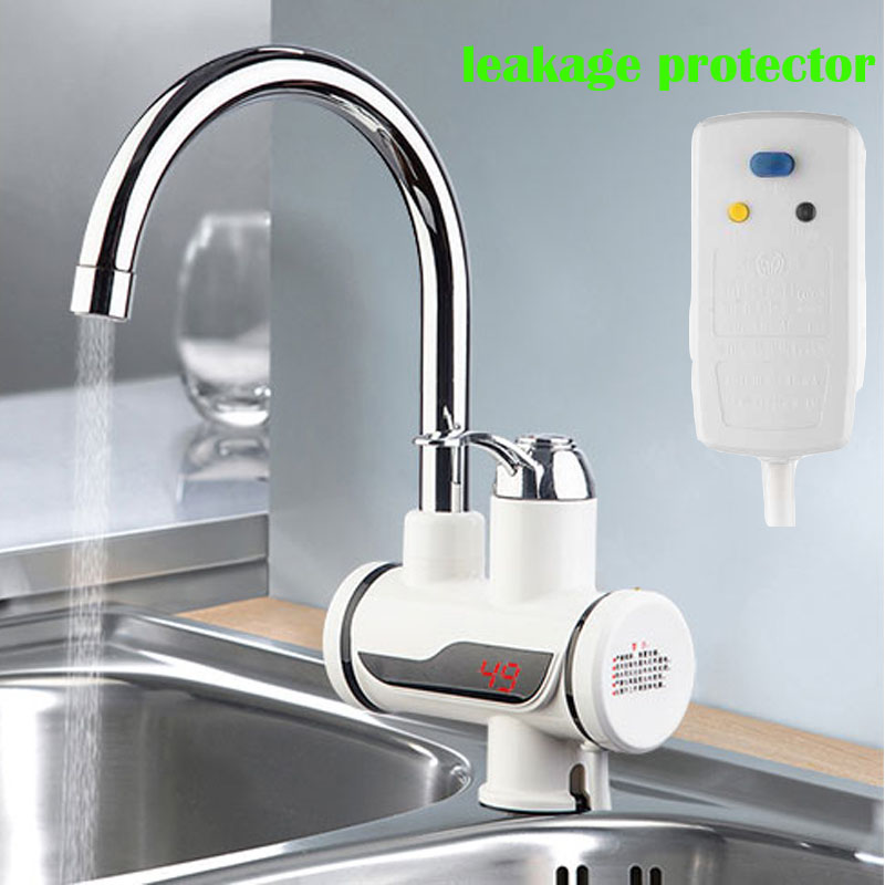 Electric Water Heater Tap Instant Hot Water Faucet Heater
