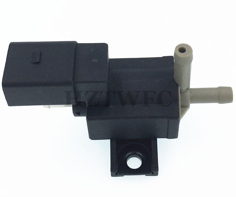 HZTWFC Turbocharger Boost Solenoid Valve 06F906283F Compatible for Audi A3 A4 A5 TT VW CC Jetta GTI Passat