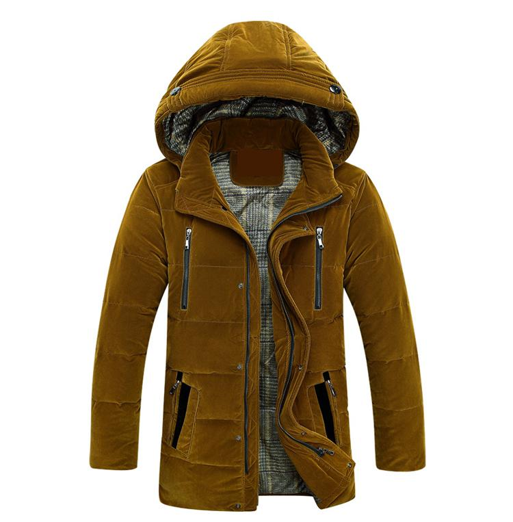 High Quality Casual Winter Jacket Men Cotton-padded Jacket Brand Thickening Fashion Warm  Thick Hooded Windproof Parkas