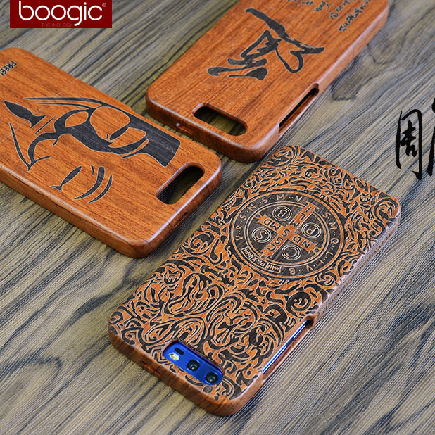 Original Wood Case For Huawei Honor 9 Hard Carved Pattern Retro Coque Protective Back Cover Cases For huawei honor9 phone shell
