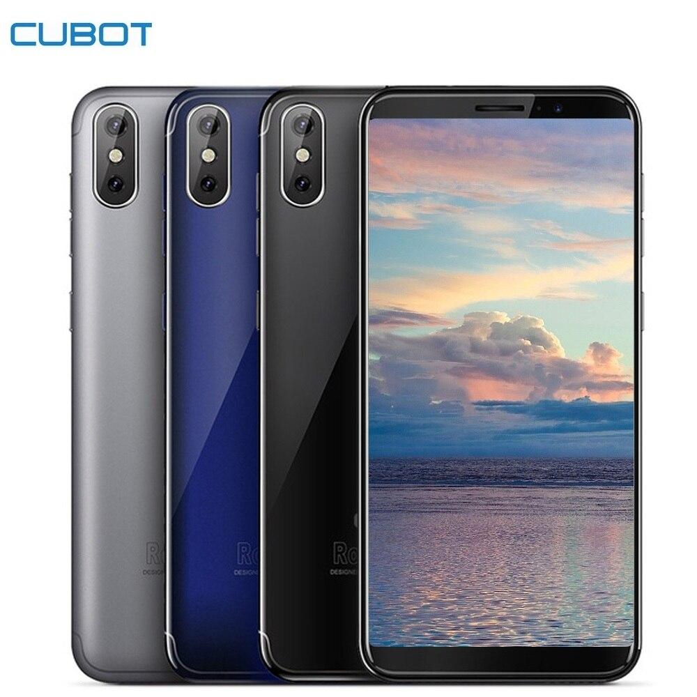 Cubot J3 3G Smartphone 5.0 pouces Android ALLER MT6580 Quad Core 1.3 GHz 1 GB + 16 GB 8.0MP caméra arrière 2000 mAh D'empreintes Digitales téléphone portable