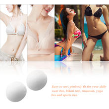 9a519e6af1 Sexy New Women Round Bra Pads Sponge Soft Breathable Removable Bra Inserts  Bikini Pad Swimsuit Cups