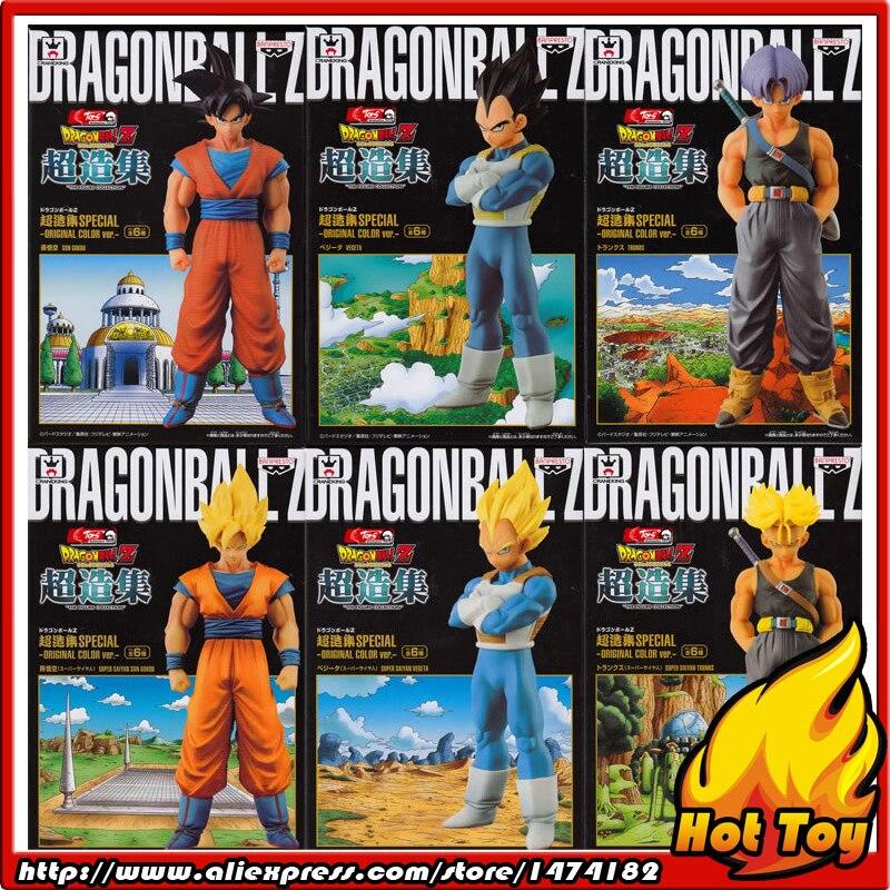 """100% Originale Banpresto Chozousyu SPECIALE Collezione Figura Full Set di 6 Pezzi (Goku Vegeta Trunks) da """"Dragon Ball Z""""-in Action figure e personaggi giocattolo da Giocattoli e hobby su  Gruppo 1"""