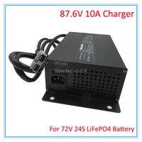 900 Вт 72 В 10A LiFePO4 вывод зарядного устройства 87,6 В 10A устройство используется для 72 В 24 s LFP LiFePO4 аккумулятор DHL Бесплатная доставка