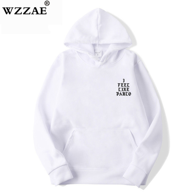 I Feel Like Paul Pablo Kanye West Sweat Homme hoodies Men Sweatshirt Hoodies Hip Hop Streetwear Hoody Pablo Hoodie 5