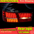 D-YL Car Styling Accessories for Hyundai Sonata NF LED Taillights 2006-13 Sonata NF Tail Light Rear Lamp DRL+Brake+Park+Signal