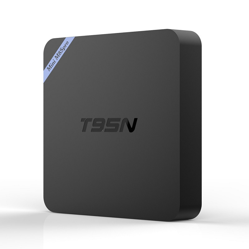 Prix pour T95N Mini TV Box Mini M8S Pro 1 GB/2G 8G Set-top Box Amlogic S905 Android 6.0 Quad Core WiFi Smart Media Lecteur UE/US/AU/UK