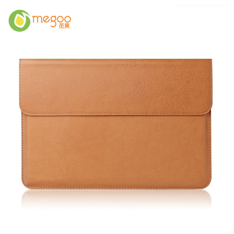 "Custodia a conchiglia in pelle per Megoo per MacBook Air 11.6 ""/ Xiaomi Air 12.5"" / Huawei MateBook E / Microsoft Surface Pro 4/3/5/6"