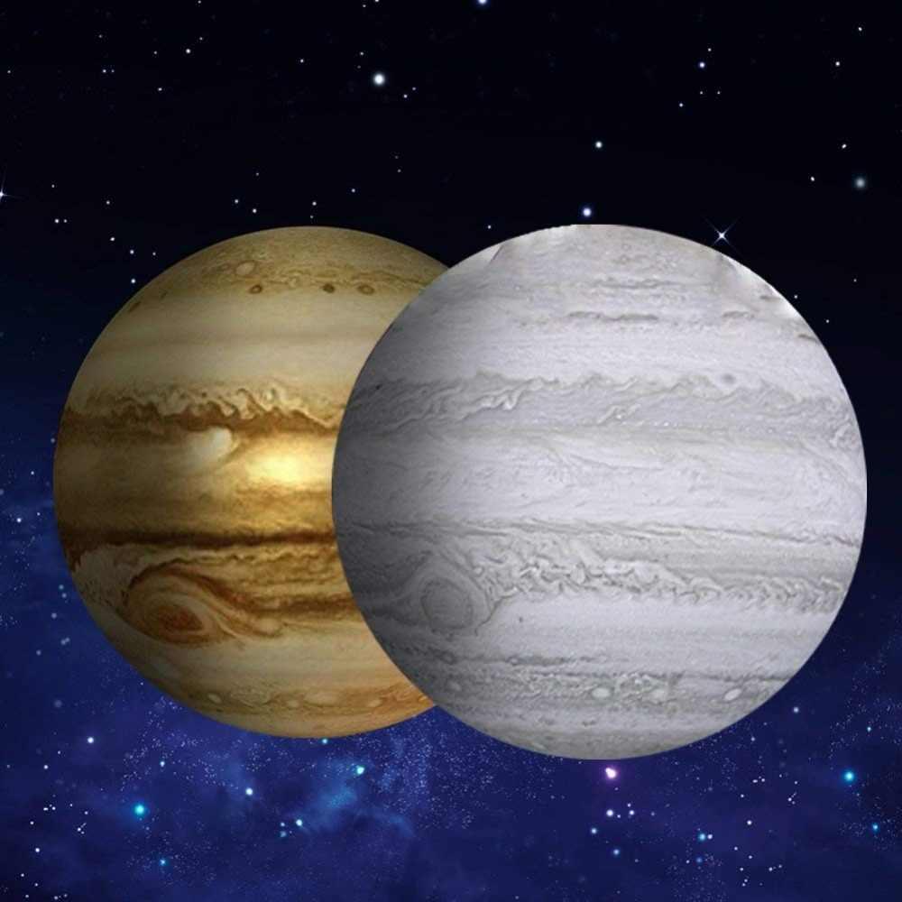 Ночник, Лунная лампа, теплый белый, RGB, лунный свет, 2 цвета, 16 цветов, 3d напечатанная Лунная лампа, светодиодная лампа в стиле АР-деко, 8 см, 10 см, 15 см, 18 см, 20 см