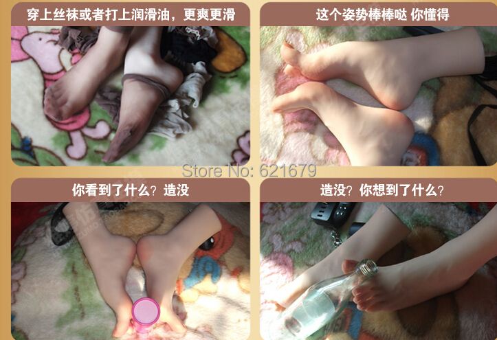 NEW sexy girls gorgeous pussy foot fetish feet lover toys clones model high arch sex dolls product feet worship 33