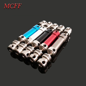 Image 1 - Metal Rear Drive Shaft CVD Spare Parts for 1/12 RC Car Crawler Short Course Truck WLtoys 12428 12423 Upgrade Parts