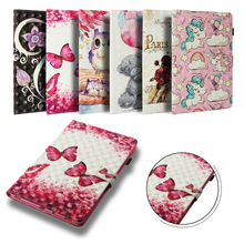 Case For Samsung Galaxy Tab S4 10.5 T830 T835 SM-T830 SM-T835 Cover Funda Tablet Fashion 3D painted Butterfly Coque Shell