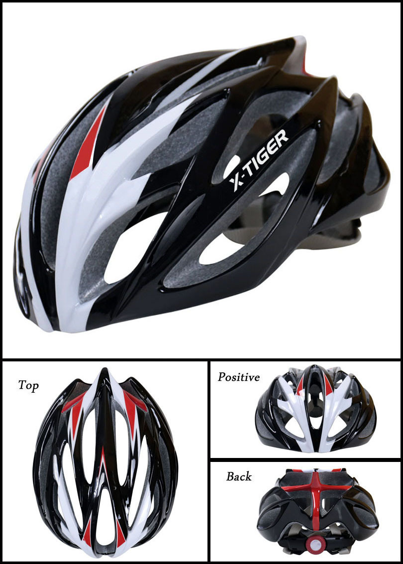 X-tiger new cycling bicycle helmet men and women mountain bike road helmet outdoor riding helmet(China)
