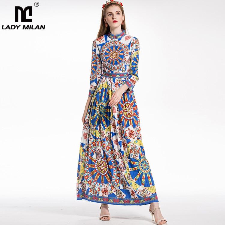 Новое поступление 2018 Для женщин со стоячим воротником одежда с длинным рукавом символо ...