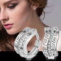 Sterling-silver-jewelry pendientes mujer earrings 925 brincos plata earing stud orecchini oorbellen  women jewelry crystal 2