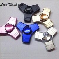 DHL Free 50pcs Lot Fidget Spinner Wheel Anti Stress Mini Metal Hand Spinner Aluminum Fidget Toy
