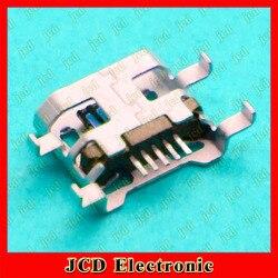 U8818 ChengHaoRan 50 pcs Micro USB Para Huawei C8813 C8813Q lenovo carregador porto soquete 5 pinos, MC-093