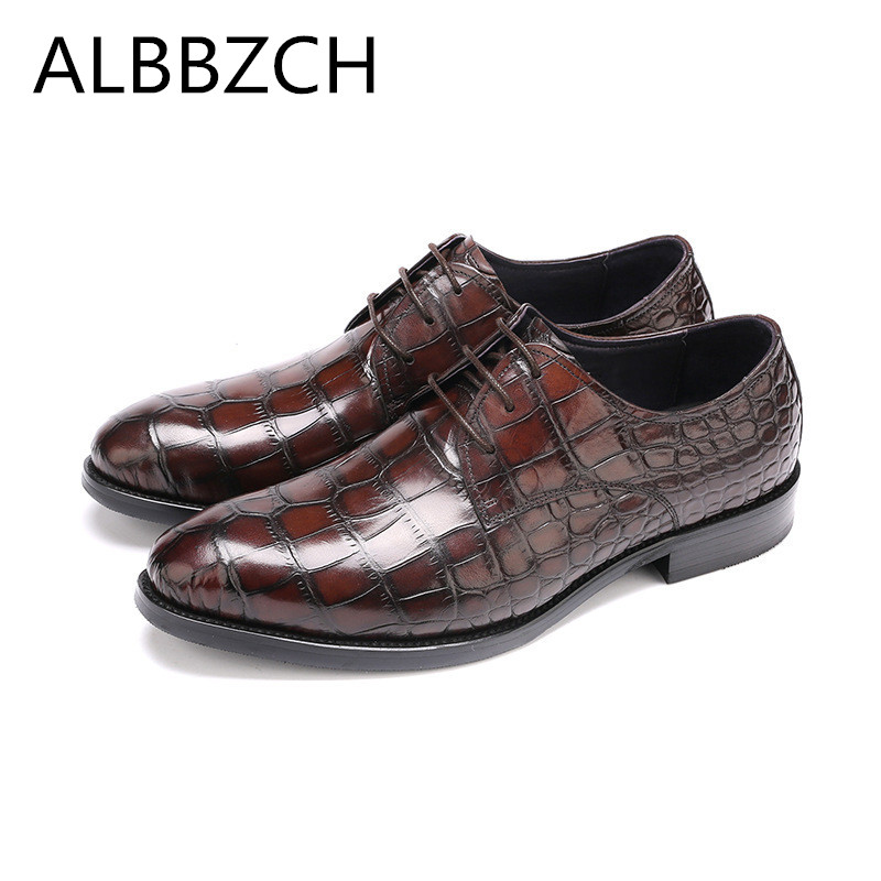 New genuine leather men shoes derby wedding dress shoes male mens fashion quality cow leather work shoes zapatos plus size 38-45New genuine leather men shoes derby wedding dress shoes male mens fashion quality cow leather work shoes zapatos plus size 38-45