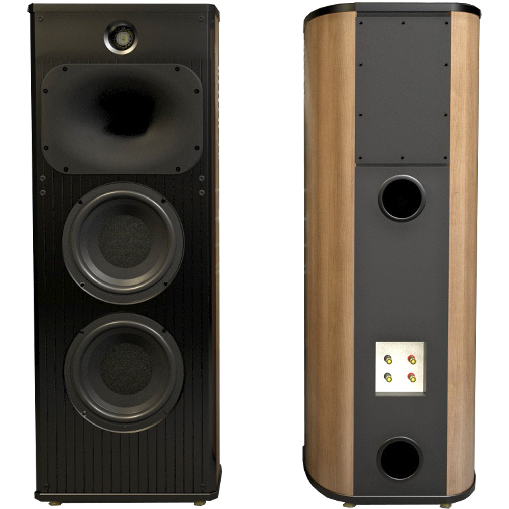 L 003 3 Way 4 Driver Floor Standing Speaker Loudspeaker Faital Pro