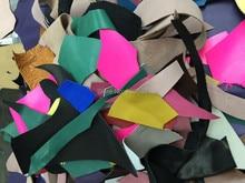 Leather scraps pieces  for DIY