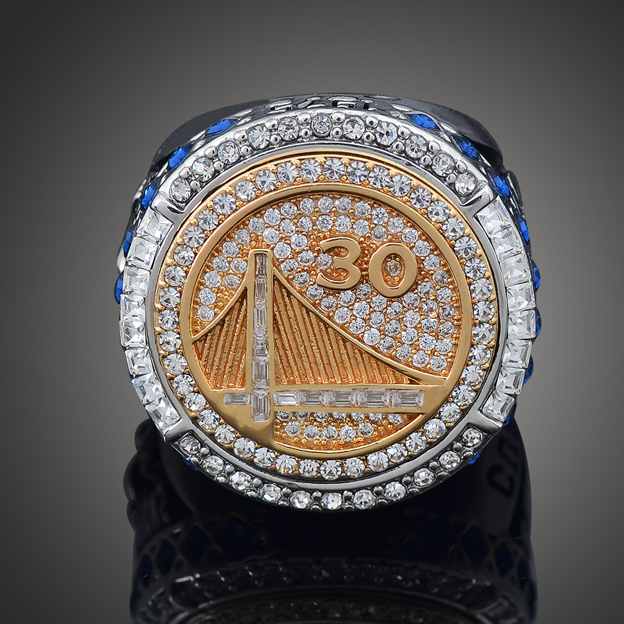 New Hot National Basketball Championship Alloy Rings Perfect Gift For Warrior Fan MVP CURRY Classic Collection