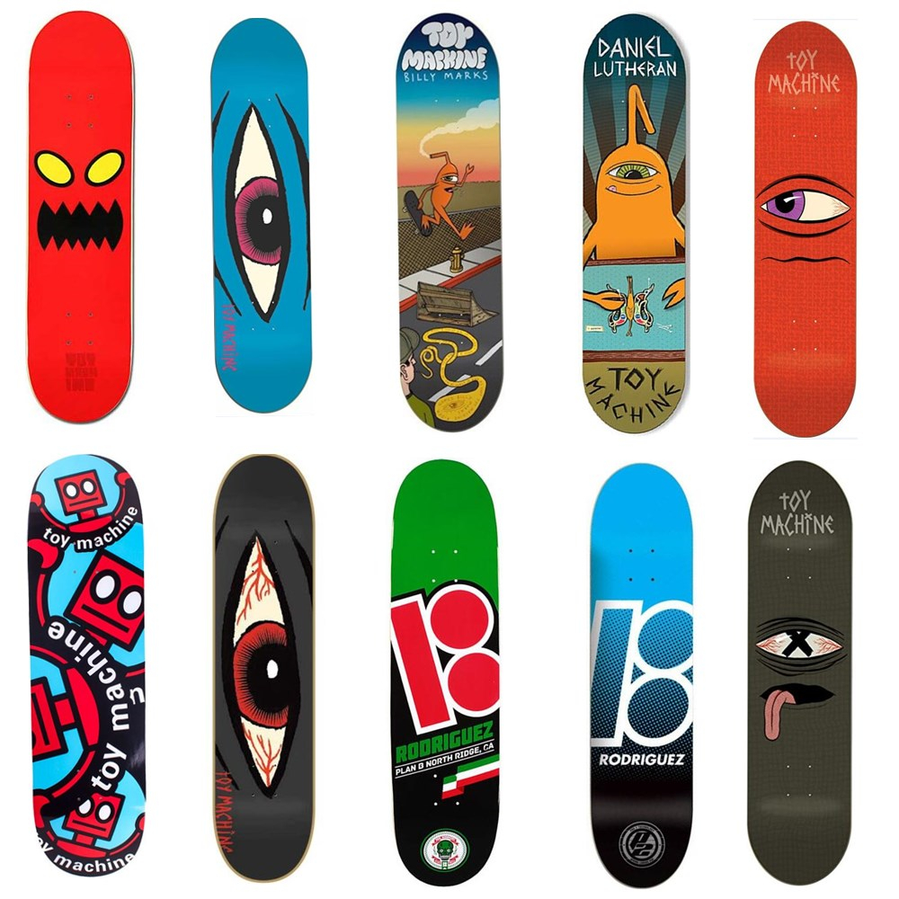 "USA BRAND PRO TOY MACHINE SIZE 8 * 31 ""New ARRIVAL skate boardind Deck realizzati da Canadian Maple Wood Shape Skateboard Skate Board"