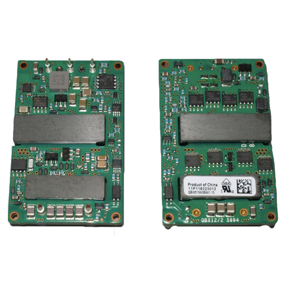 QBW018A0B Series Power Modules DC - DC Converters 36 - 75Vdc Input 12Vdc Output 18A Output Current