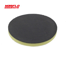 ФОТО brilliatech bt-6012m medium magic clay pad 150mm  medium magic clay with polishing sponge pad