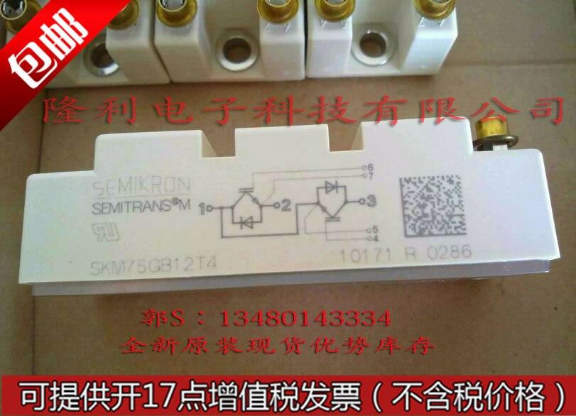 .SKM75R12T4/SKM75R123D/SKM75R124DE new genuine authentic/. цена