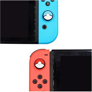 Image 4 - 1pcs Silicone Analog Controller Stick Grips for Nintend Switch NS Controller Skin Joy Con Caps Controller Cover