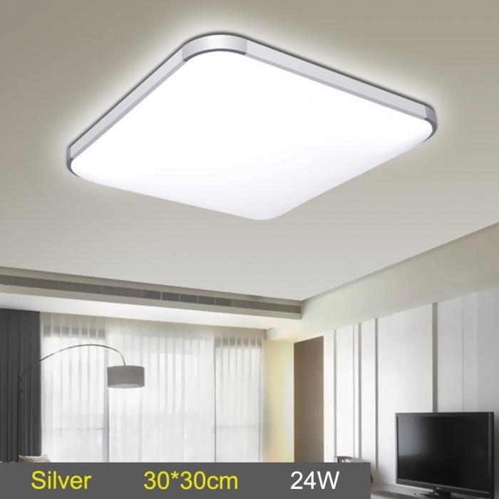 LED Ceiling Down Light Lamp 24W Square Energy Saving For Bedroom Living Room MAL999