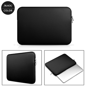 Image 4 - Soft Laptop Bag for Macbook air Pro Retina 11 12 13 14 15 15.6 Sleeve Case Cover For xiaomi Dell Lenovo Notebook Computer Laptop