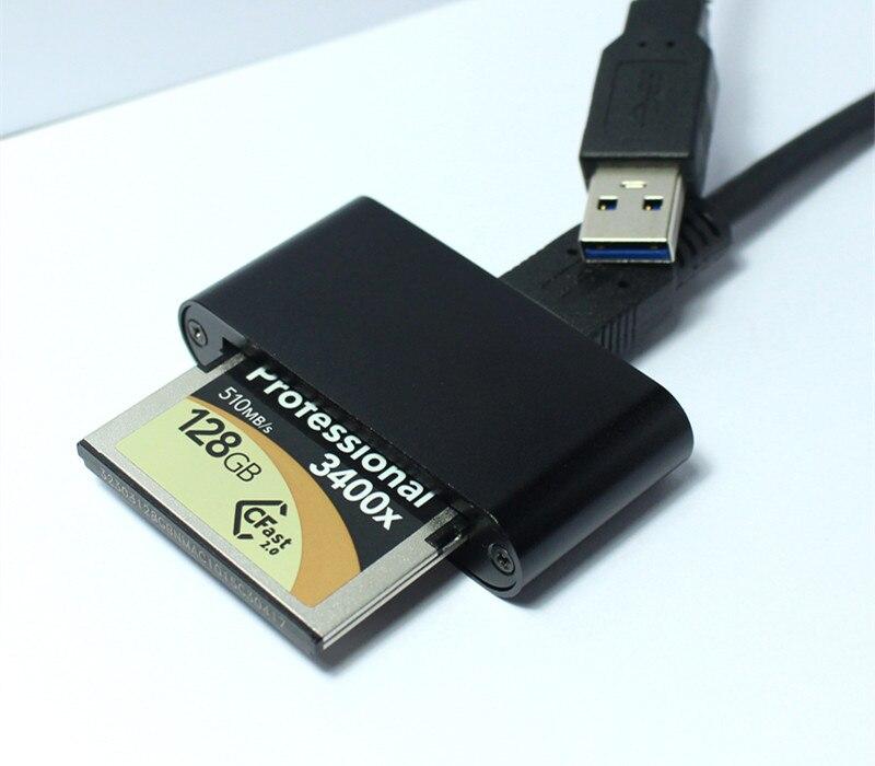 Haute Vitesse!!! USB 3.0 Lecteur de Carte CFast CFast Carte slot adaptateur CFast JE II Lecteur de carte