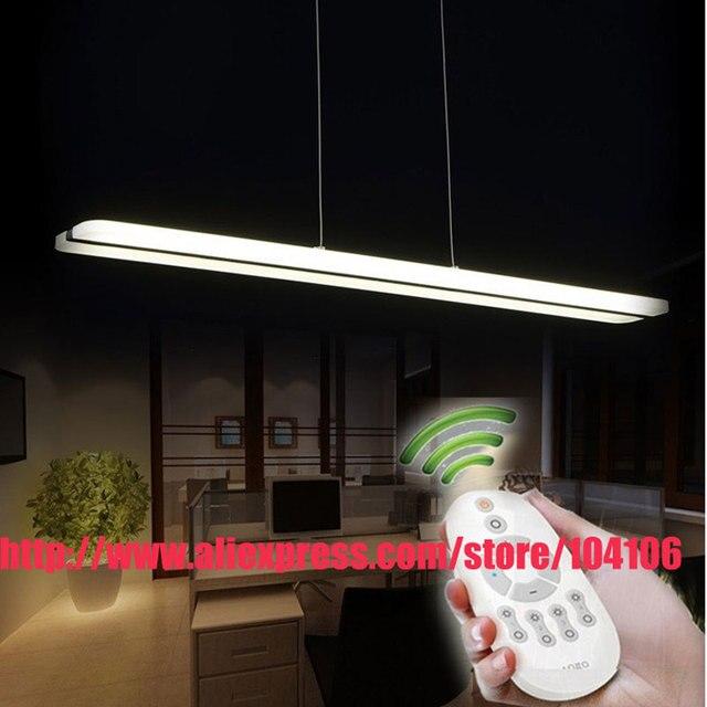 Modernes Design Weiß Acryl FÜHRTE Kronleuchter Für Esszimmer Küche  Beleuchtung Glanz Hängelampe L100 * H150cm 38