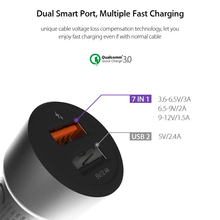 CelBro7-in-1 Quick Charge 3.0 Car Charger