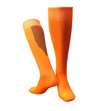 High Quality Men Women Soccer Socks Thick Breathable Knee Football Sports Training Long Stocking NCM99