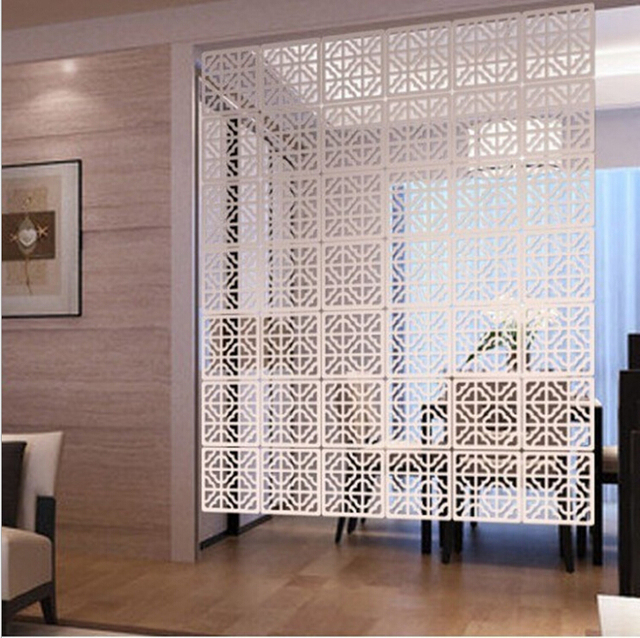 6pcs Lot 29 29cm Room Divider Screen Parion Modern Folding Brief Hanging