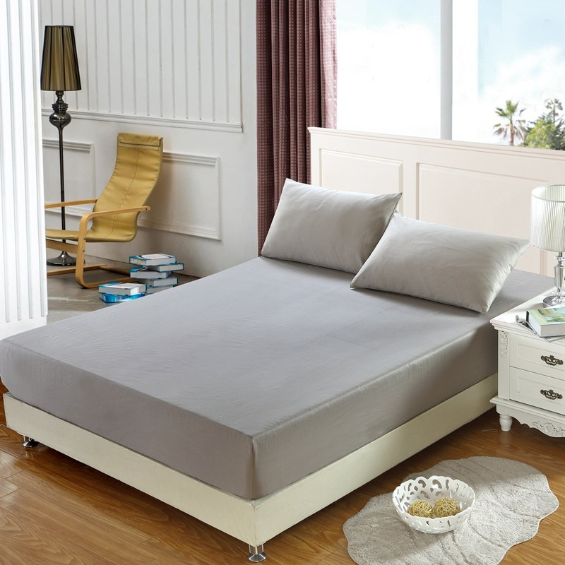 Solid cotton mattress cover anti-slip stretch bed sheets Separated covers for mattresses Anti Dust Mite Bed Pad mattress topper