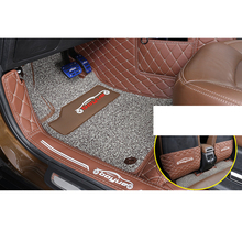Lsrtw2017  PVC Car Interior Anti-scratch Foot Mat for Geely Boyue 2016 2017 2018 2019 2020
