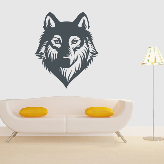 Wolf Wall Decoration Wild Life Vinyl Decal Tattoo For Car Truck Art