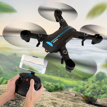 8807W Drone Upgrade version RC Selfie Drone with Wifi FPV HD Camera Altitude Hold Headless Mode RC Quadcopter Mini Foldable Dron