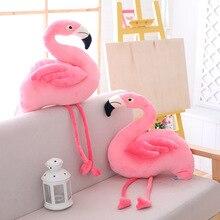 Flamingo Stuffed Toys Animal Cartoon Pillows Cute Lovers Courtship Plush Toys Stuffed Kids Baby Girls Marry Toys Plush MR002