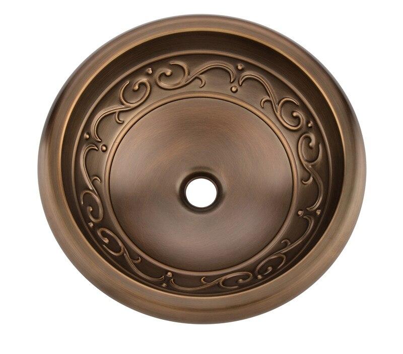 Lavabo classique, évier Antique, évier en cuivre fait main, évier en cuivre, comptoir en laiton/sous le comptoir