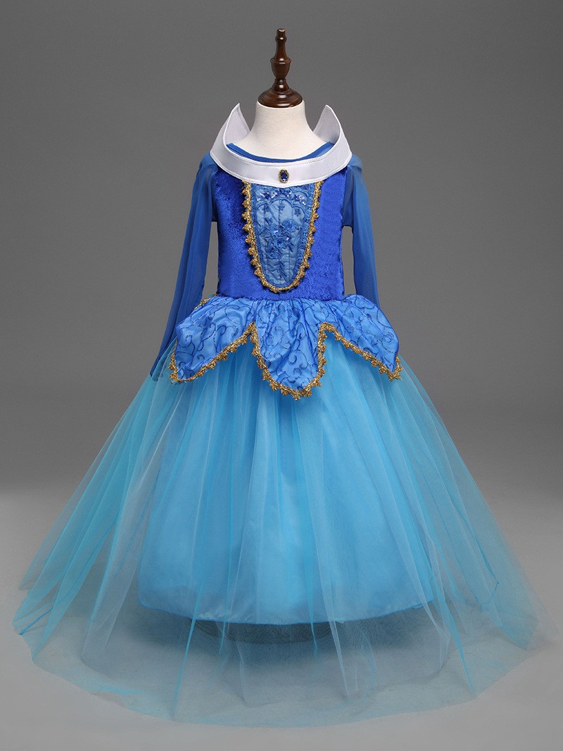 Sleeping Beauty Dress Girl (9)