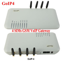 GoIP_4 poorten gsm voip gateway/Voip gsm gateway/GoIP4 ip gsm gateway ondersteuning SIP/H.323/-GOIP4-speciale prijs