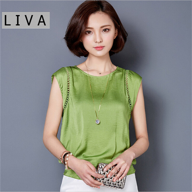 Big Size M-3XL Luxury Chiffon Tank Top For Women Summer Fashion Crop Tops Women's Sleeveless Tank Vest Tops Lady Sexy Camis