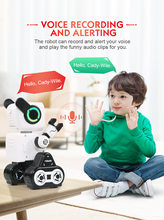2.4GHZ INTELLIGENT REMOTE CONTROL ROBO-ADVISOR Smart Remote Control Robot Toy man Electronic Pet Animal Kids Education toy(China)