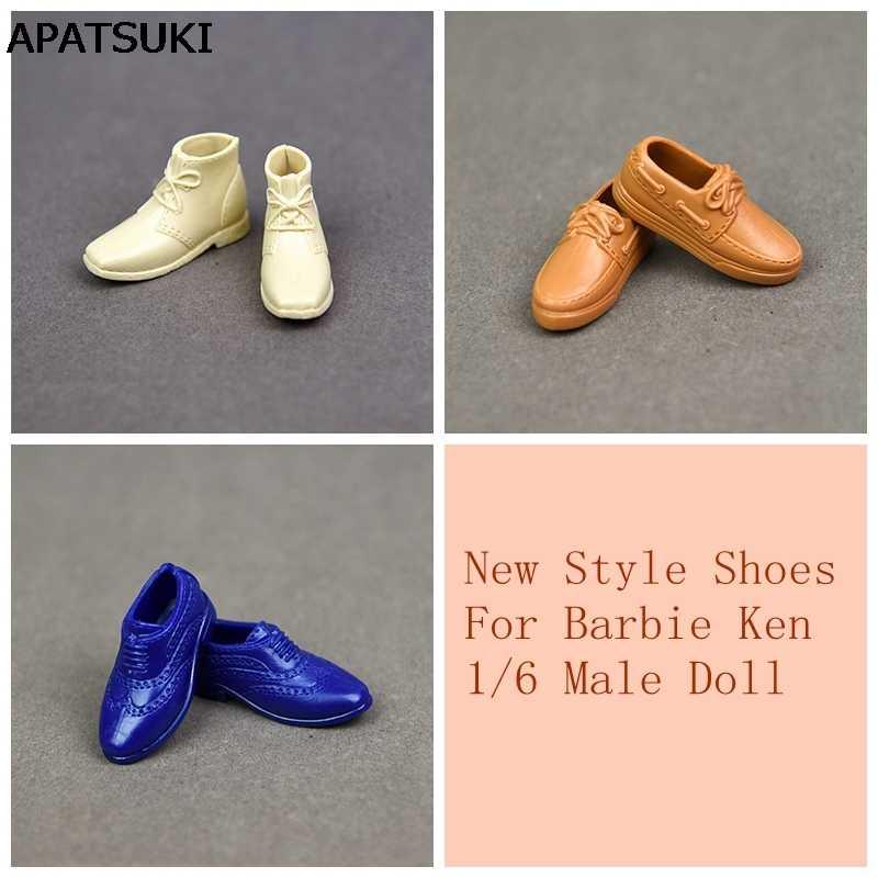 e7ff543b084 Модная обувь для куклы кроссовки обувь для Кен мужской куклы аксессуары  Повседневная обувь цена парень Барби