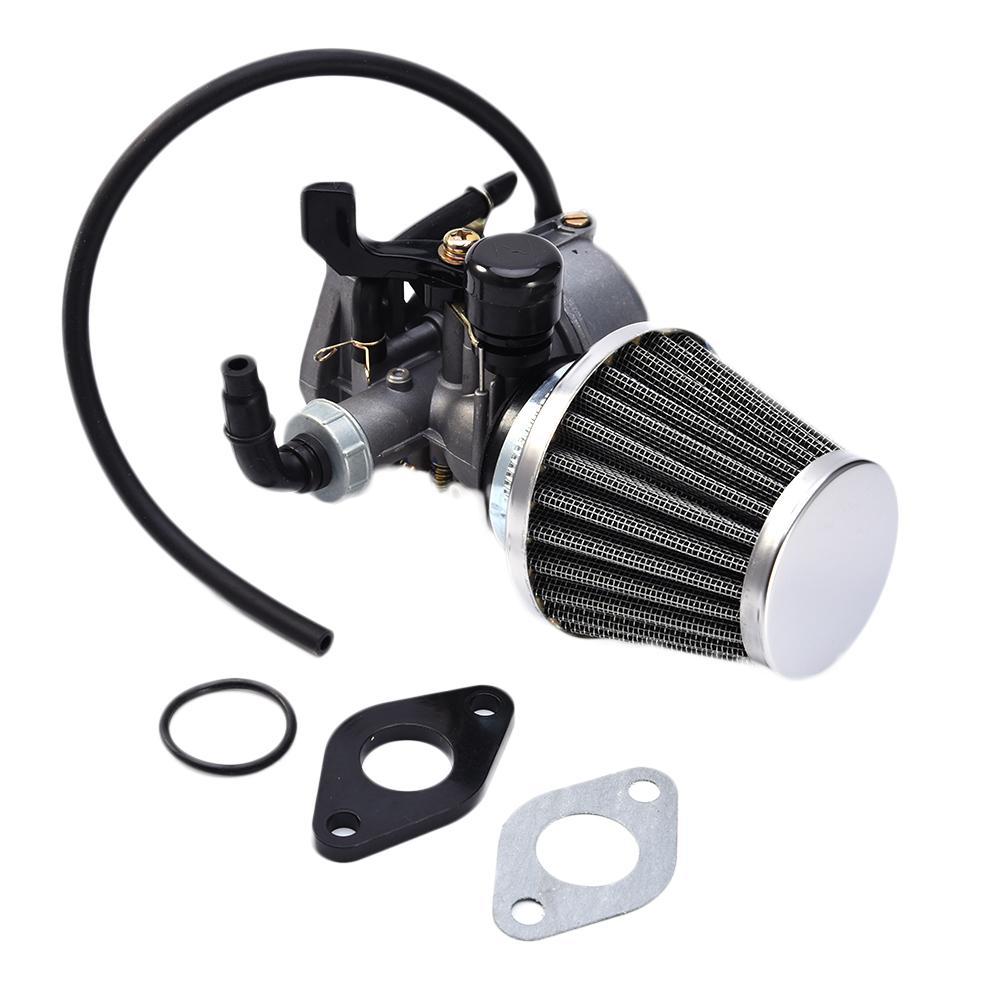 19mm PZ19 Hand Choke Carburetor Carb Intake Pipe Air Filter Fuel Filter 50cc 70cc 90cc 110cc 125cc For Taotao Sunl Quad ATV sony беспроводные наушники